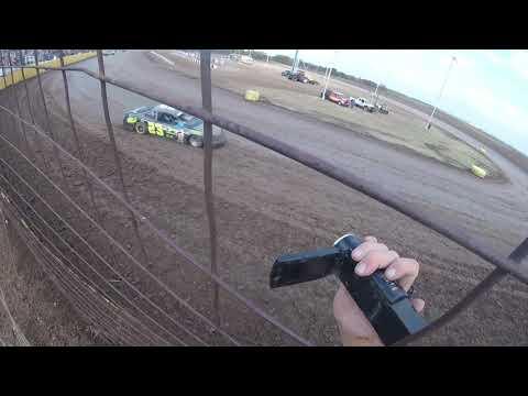 "Salina Speedway ""Mid America Clash 2018"" IMCA Stock cars Heat 2"