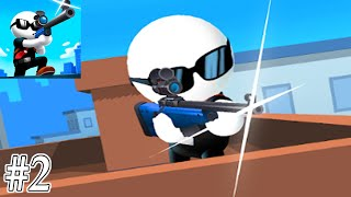 Johnny Trigger Sniper Gameplay Walkthrough Part 2 - All Level 46-75 Solution (ios,Android)