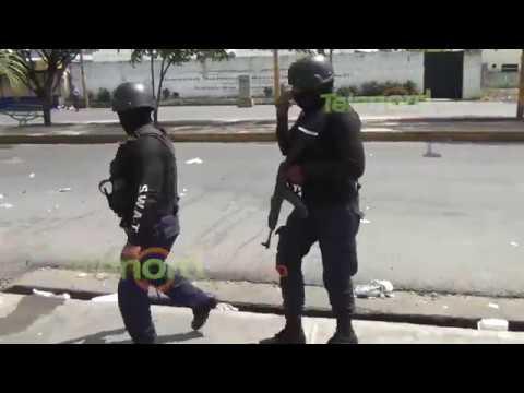 Enfrentamientos en medio de entierro de joven asesinado en SFM(VIDEO)