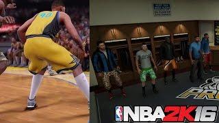 NBA 2k16 PRO-AM Gameplay Trailer BreakDown! CashNasty Ipod YMDGento ChaseMoney LostNUnbound