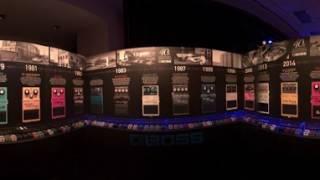 NAMM 2017 - Roland/BOSS 360 booth tour