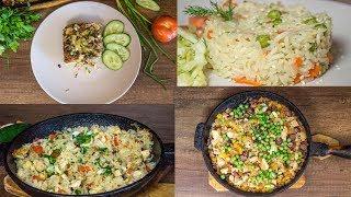 Как вкусно приготовить рис 4 шикарных варианта