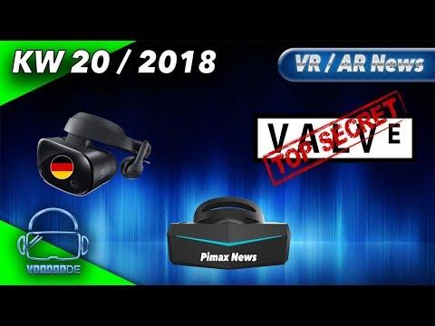 Virtual Reality News (Wochenrückblick KW20/18) - Großes Pimax 8K Update, Samsung Odyssey Deutschland