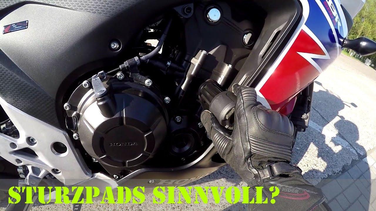 Motorrad Sturzpads (Crashpads): Sinn oder Unsinn? (Deutsch ...