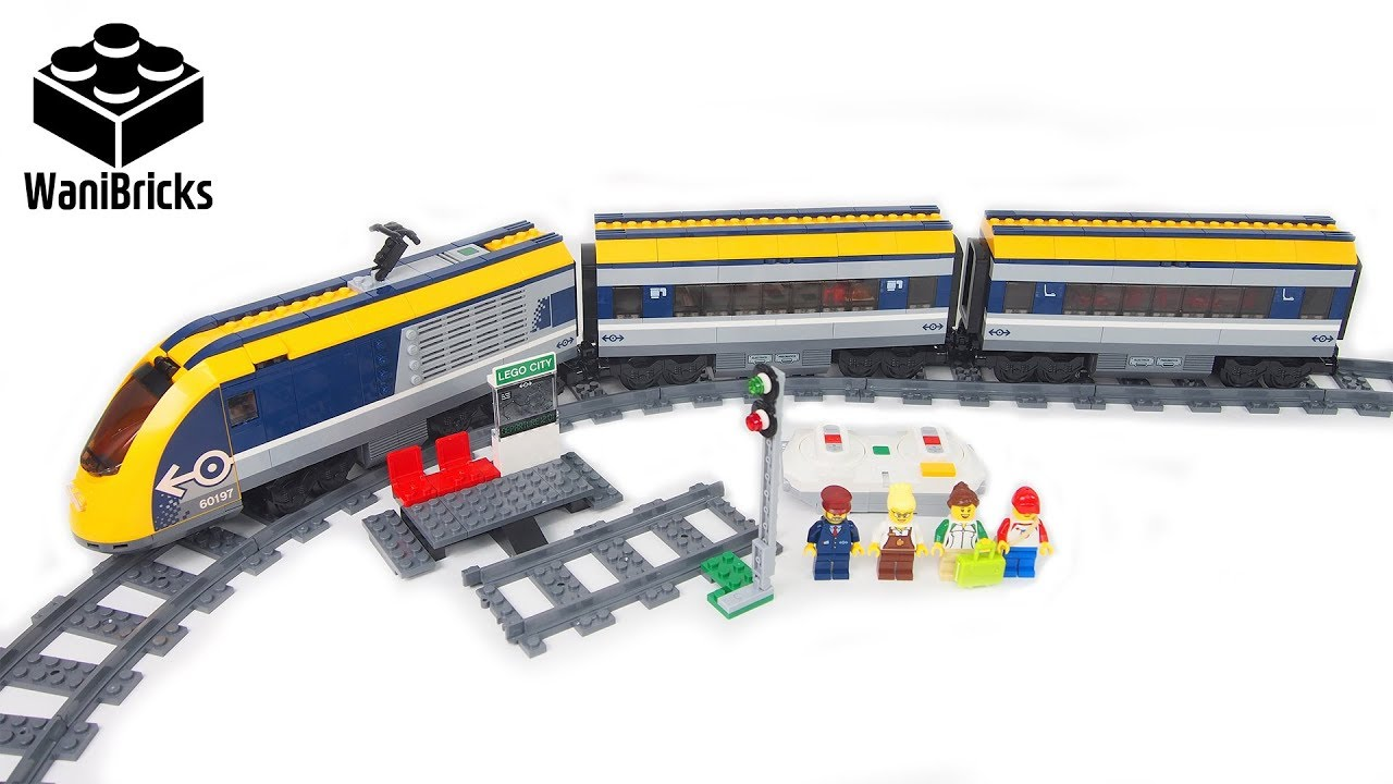 Lego City 60197 Passenger Train - Lego Speed Build