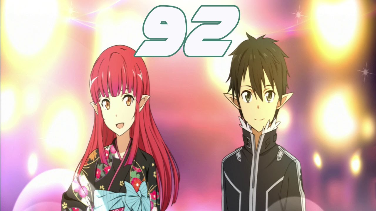 Sword Art Online Lost Song Walkthrough Gameplay Part 92 - Rain and Seven  Festival Event