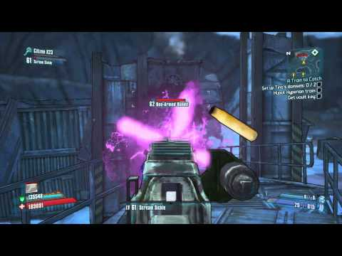 Borderlands 2: Axeplosive Rampage vs Robutts Krieg Psycho