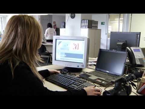 Un dia de trabajo en la edición digital de La Voz de Galicia