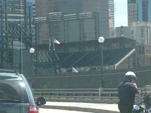Driving up to Coors Field