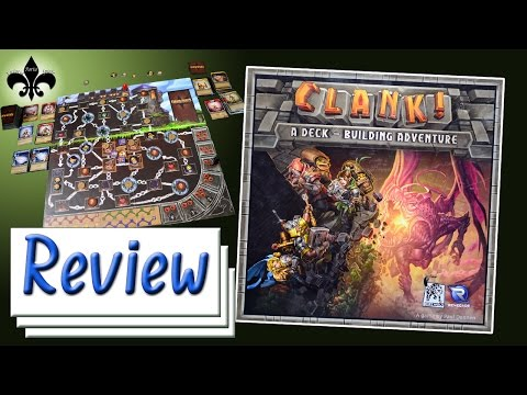 Clank! Brettspiel Review - Renegade Game Studios / Dire Wolf  2016