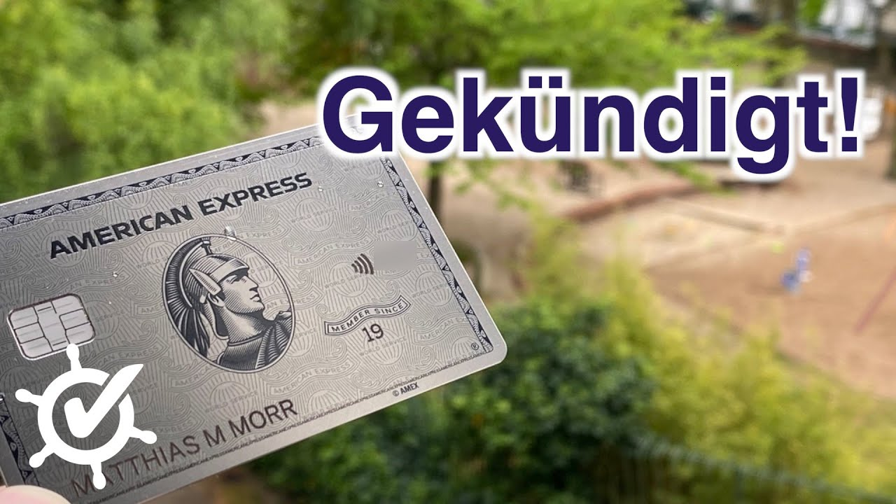 Download American Express Platinum: Warum ich die Kreditkarte gekündigt habe