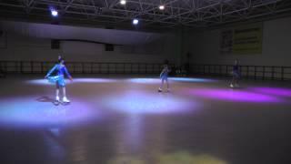 Фигурное катание на роликовых коньках. Вальс. 29.11.2014.