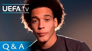 Axel Witsel - Q&A with Zenit's Belgian star