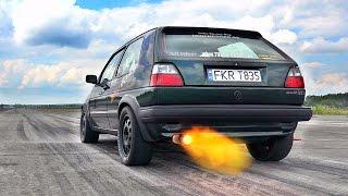 vuclip Best VW VR6 TURBO SOUND Compilation GOLF 1 2 3 Jetta Passat...