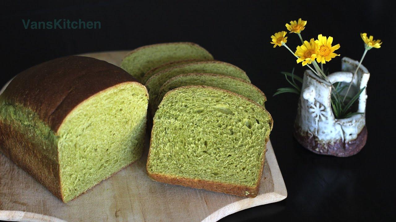 Spinach bread (Bánh mì rau cải bó xôi)