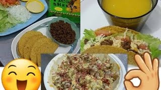 Food Trip: Mango Smoothie, Cheesy Potato Salad & Meaty Tacos