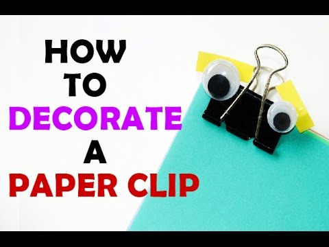 Diy Simple Paper Clip Crafts Easy Step By Step Diy Paper Clip