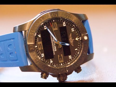 BREITLING SMARTWATCH REVIEW: The Breitling Exospace B55