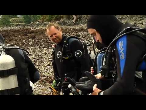 Scuba Diving at Finn Beach - The Locker Room on Shaw TV