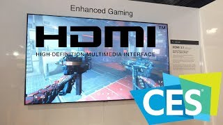 HDMI 2.1 Enhanced Gaming Features | CES 2019