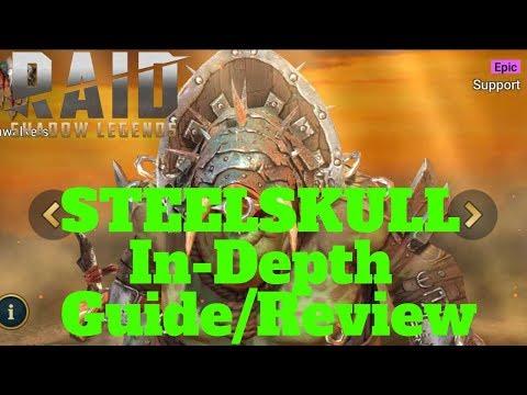 SteelSkull In-Depth Guide/Review| Raid: Shadow Legends