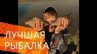 Рыбалка на Леща на ФИДЕР пикер на реке Пьяна Поклёвки крупным планом