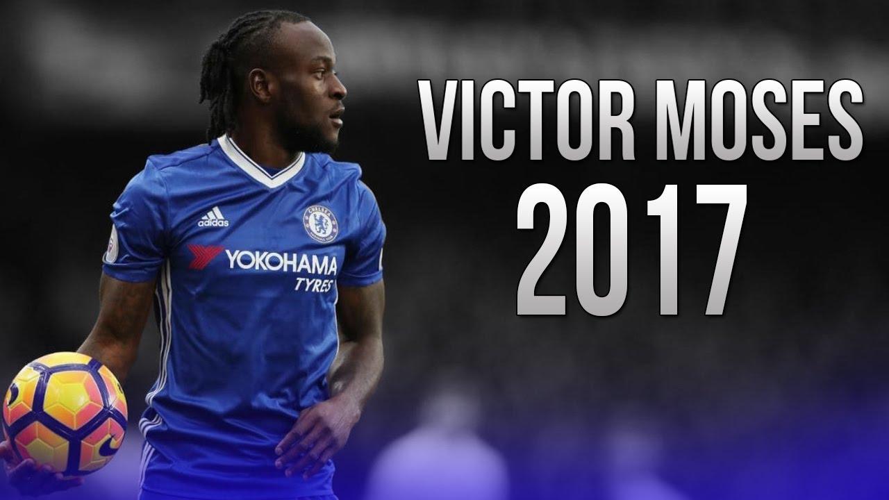 Victor Moses Dribbling Skills Goals Chelsea