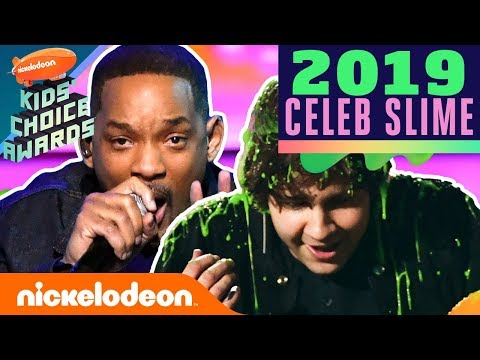 SLIME CAM 📹 ft. Will Smith, David Dobrik, Adam Sandler, & More! | 2019 Kids' Choice Awards | Nick