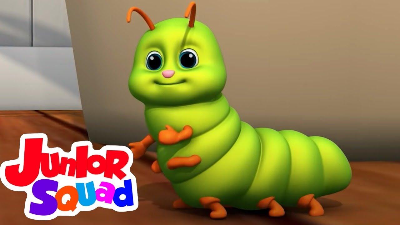 Bugs Bugs lagu | Kartun pendidikan anak | Video edukasi | Junior Squad Indonesia | Bayi sajak