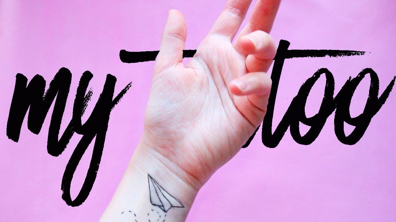 как сделать временную татуировку в домашних условиях без присыпки