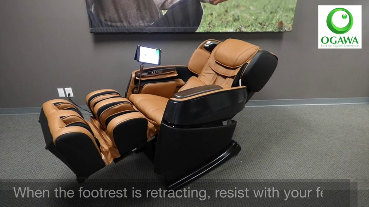 Ogawa Smart 3D Massage Chair   Operation