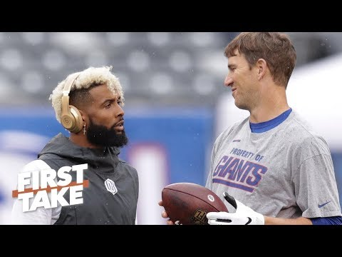 Giants' affection for Eli Manning forced them to trade Odell Beckham Jr. – Stephen A. | First Take