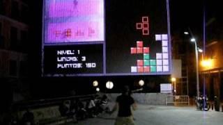 TETRIS - La Noche en Blanco 2010 - Lummo Blocks