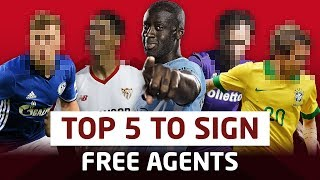 Top 5 Free Agents Manchester United Should Sign! Transfer Talk