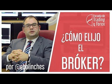 ¿Cómo elijo el broker?