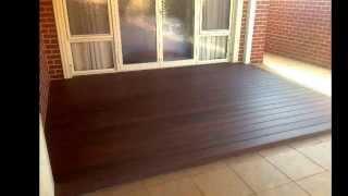 Nex Gen Rosewood Colour Composite Decking