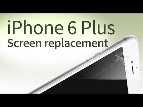 iphone 6 plus crack screen repair tutorial