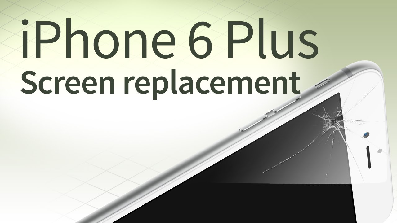 iphone 6 screen replacement iphone 6 plus screen replacement step by step tutorial 1033
