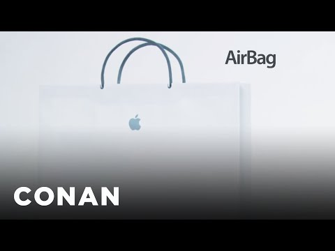 Introducing The New Apple AirBag  - CONAN on TBS