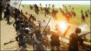 BATTLE OF BUNKER HILL - Born in the Fire: America Mod Gameplay