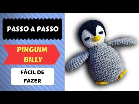 Pinguim de Crochê Amigurumi   360x480