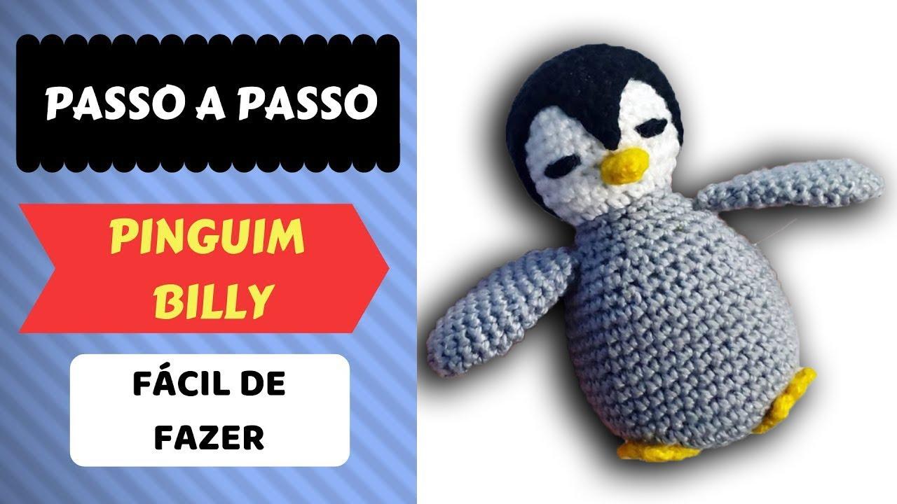 Amigurumi Receita Pinguim - Parte 1 - YouTube em 2020 (com imagens ...   720x1280