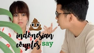 SH#T INDONESIAN COUPLES SAY! | ft. DinaDino
