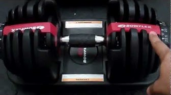 Bowflex SelectTech 552 Adjustable Dumbbells Review