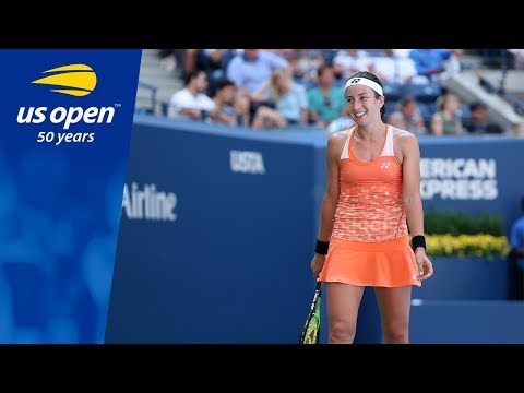 Anastasija Sevastova Ends Title Defense of Sloane Stephens