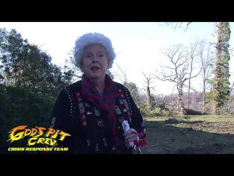 God's Pit Crew Tornado Response to Tappahannock, Virginia: Betty Paige's Story