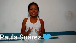 BOTELLA CHALLENGE | PAULA SUÁREZ 😘