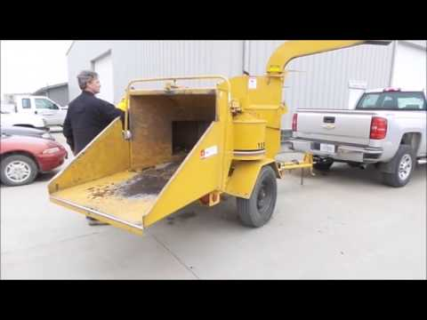 1991 Vermeer 1250 chipper for sale | no-reserve Internet auction May 2, 2017