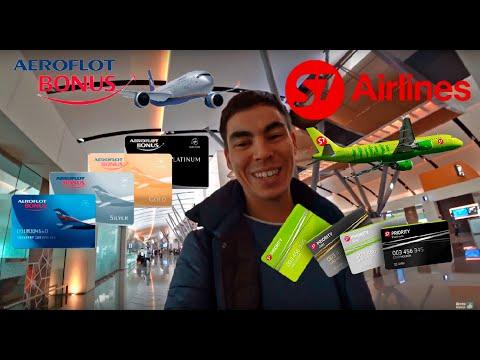 Карта Аэрофлот-бонус и S7: личный опыт 27мес использования