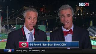 Chris Welsh and Thom Brennaman on the Reds 6-2 start